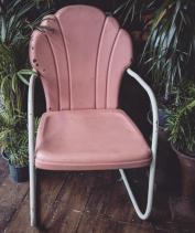 American Shell Porch Chair